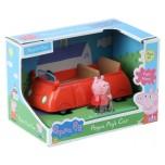 Peppa Pig auto, sarkans