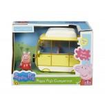 Peppa Pig auto, dzeltens