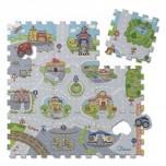 CHICCO Mīkstā puzzle pilsēta 9gb