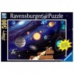 """Ravensburger """"Saules sistēma"""" Puzzle 500 el."""