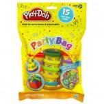 Play-doh Plastilīns,Svētku iepakojums ar uzlīmēm,15 gb.