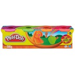 Play-doh Plastilīns,Trakais komplekts, 4 glāzītes