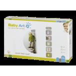 Baby Art Height Print Chart komplekts mazuļa pēdiņu/rociņu nospieduma izveidošanai