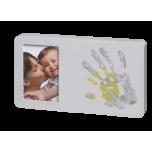 Baby Art DUO Paint Print Frame komplekts mazuļa pēdiņu/rociņu nospieduma izveidošanai