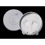 Baby Art Magic Box komplekts mazuļa pēdiņu/rociņu nospieduma izveidošanai, confetti