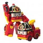 Silverlit Robocar Poli Mini Transformers ROY Ugunsdzēsēju Mašīna (7.5 cm)