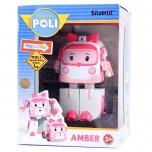 Silverlit Robocar Poli Transforming Robot AMBER (10 cm)