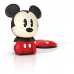 Philips Disney SoftPal Mickey led nakts gaismiņa, lādējama, 0.18W