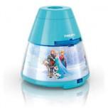 "Philips Disney ""Frozen"" LED projektors un nakts gaismiņa,zila"