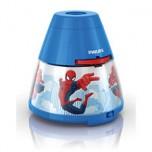 """Philips Disney """"Spider-Man"""" LED projektors un nakts gaismiņa, zila"""