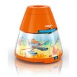 """Philips Disney """"Planes 2"""" LED projektors un nakts gaismiņa, oranža"""