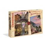 Clementoni Puzle 3x1000 Itālija