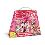 Clementoni 104 Jewels puzle Minnie
