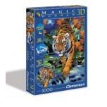 Clementoni 1000 3D Magic puzle Tīģeris 39185