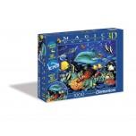 Clementoni 1000 3D Magic puzle Jūras pasaule 39186