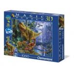 Clementoni 1000 3D Magic puzle Dinozauri 39261