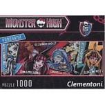 Clementoni 1000 Panorama Monster High 39276