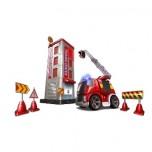 Silverlit I/R Fire Truck + Fire Station Deluxe Set