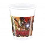 Plastmasas glāzes Avengers 200ML (8gab)