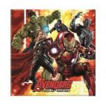 Salvetes Avengers 33X33cm (20gab)