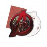 Ielūgums Avengers (6gab)