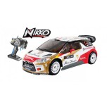 NIKKO R/V mašīna WRC DS3, 1:16