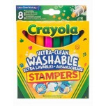 Crayola 8 ULTRA CLEAN STAMPERS