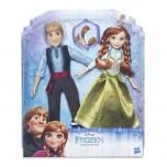 Disney Frozen Lelles Ledus Sirds Anna un Kristofers