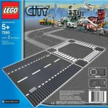 LEGO Straight & Crossroad V70,V110 7280