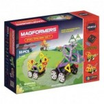 MAGFORMERS Zoo Racing set 55 gab.