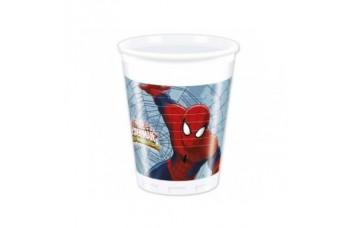 Procos Spiderman Plastmasas glāzītes