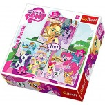 "TREFL PUZZLE komplekts 3 in 1 ""MY LITTLE PONY"""